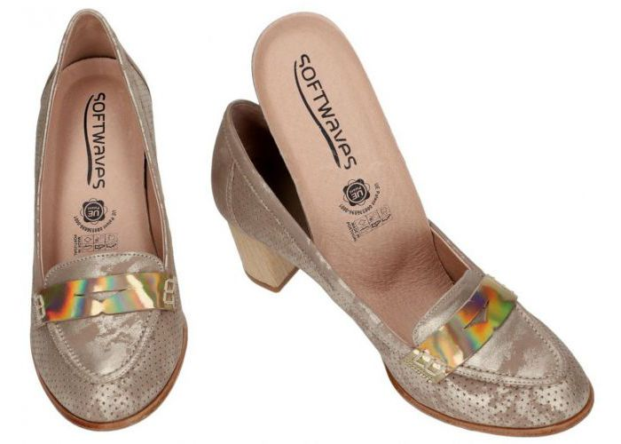 Softwaves 6053 pumps taupe