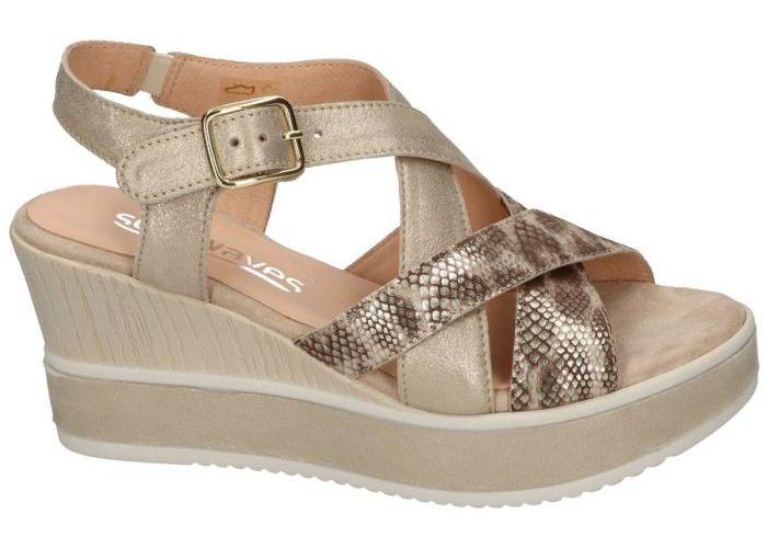 Damesschoenen Softwaves SANDALEN 7.43.08 Goud