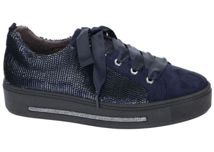 Softwaves 8879 sneaker-sportief blauw donker
