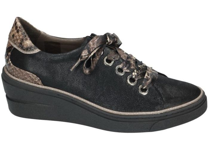 Softwaves 9929 sneaker-sportief zwart