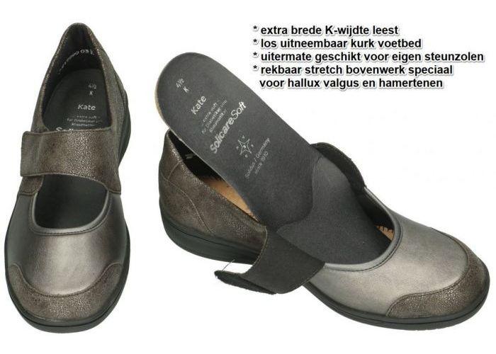 Solidus 29503-20619 KATE K ballerina's & mocassins brons