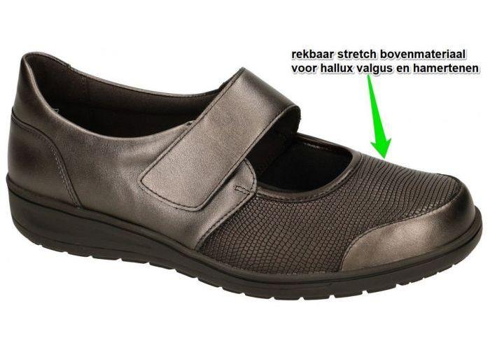 Damesschoenen Solidus BALLERINA'S & MOCASSINS 29503-30472 KATE (K) Bruin Donker