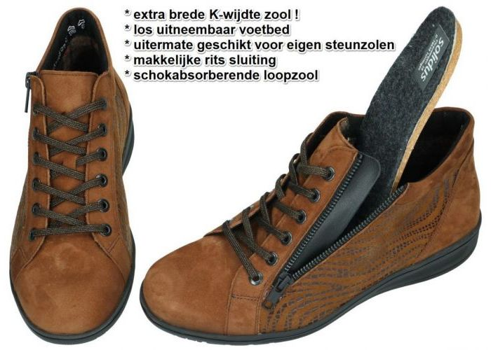 Solidus 29007-30469 KATE bottines bruin