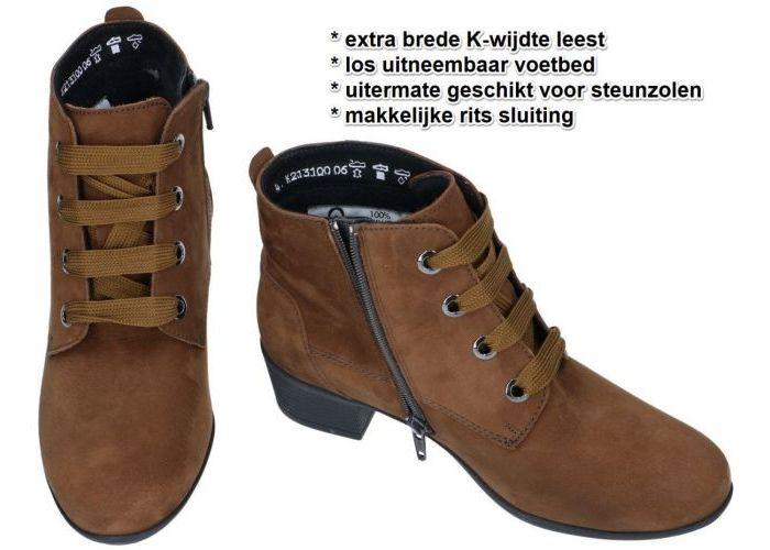Solidus 35019-30350 KERRY bottines bruin