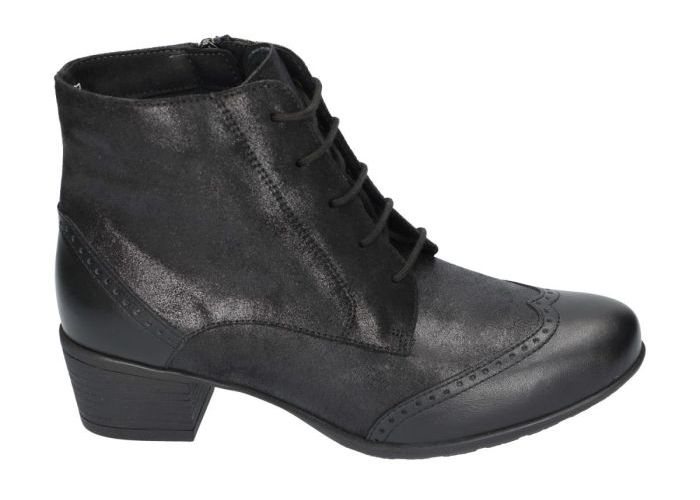 Solidus 9092 bottines zwart