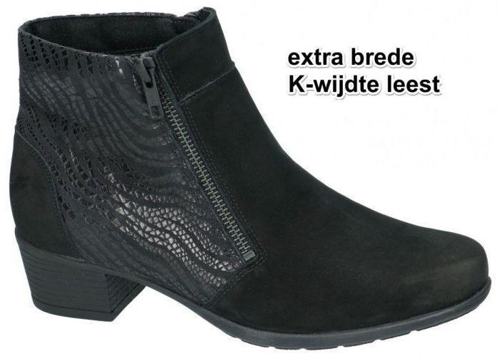 Damesschoenen Solidus ENKELLAARZEN 35011-00974 KERRY (K) Zwart