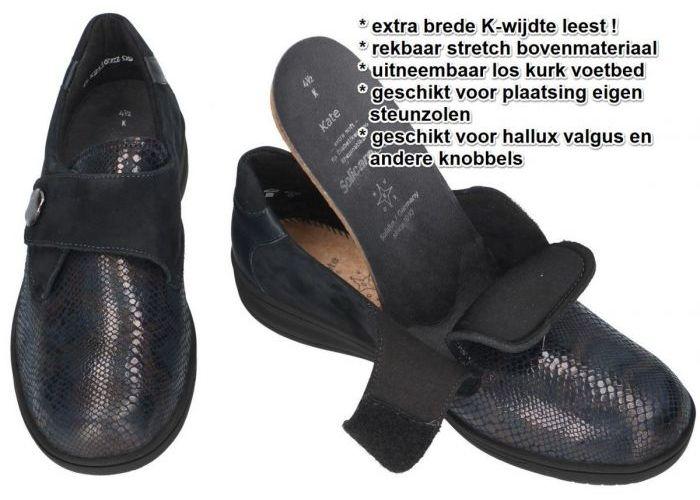 Solidus 29506-80246 KATE (K) lage gesloten schoenen blauw donker