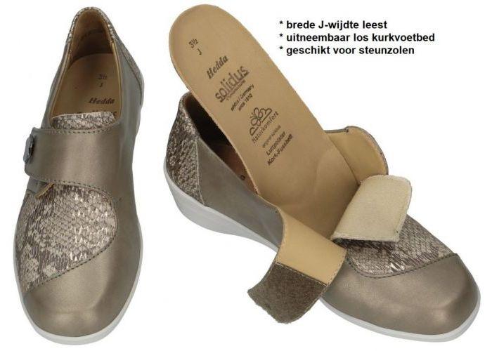 Solidus 26428-40330 HEDDA (J) lage gesloten schoenen brons