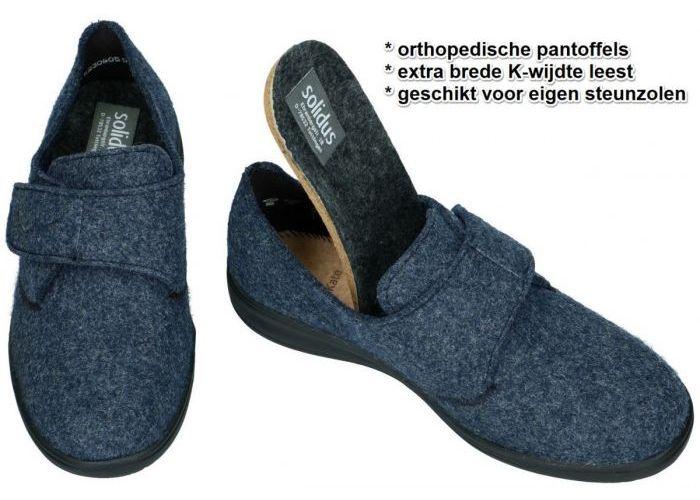 Solidus 29076-80242 KATE  pantoffels blauw donker