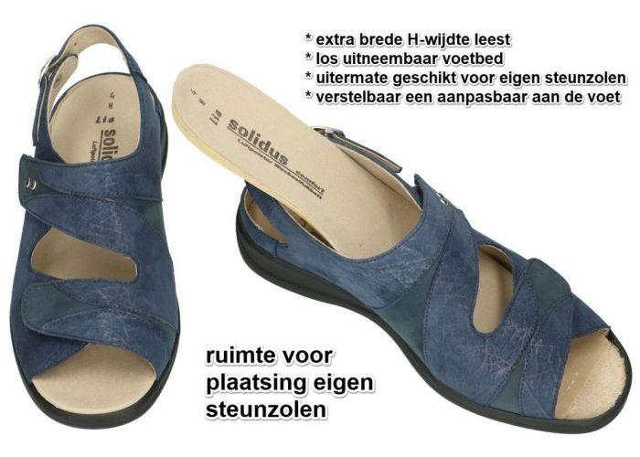 Solidus 73104-80363 LIA sandalen blauw donker