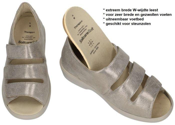 Solidus 47009-30225 THERAPO Damen sandalen brons