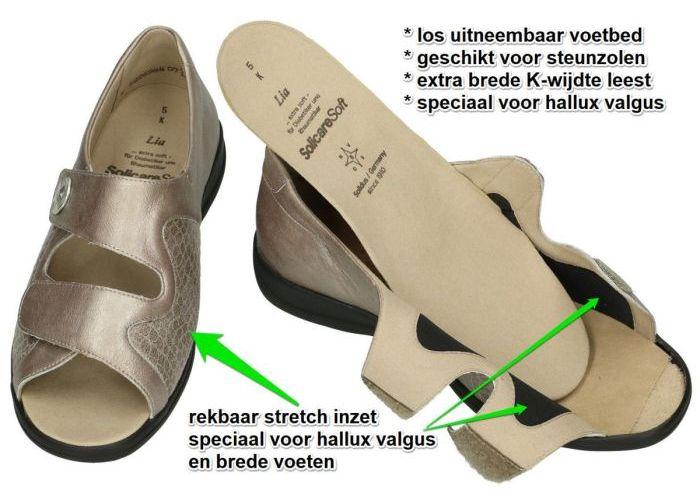 Solidus 73501-40169 LIA  sandalen brons