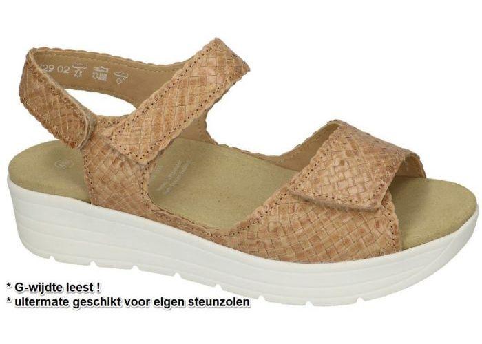 Damesschoenen Solidus SANDALEN 48017 GRETA (G) Camel