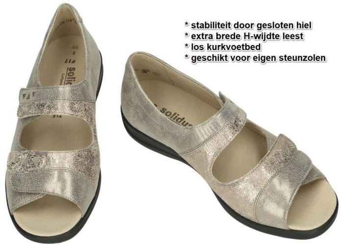 Solidus 73081-30226 LIA sandalen goud