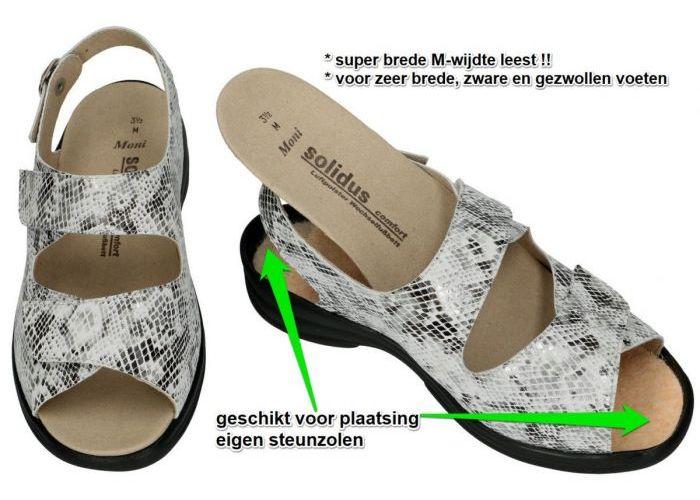 Solidus 74030-20025 MONI sandalen grijs