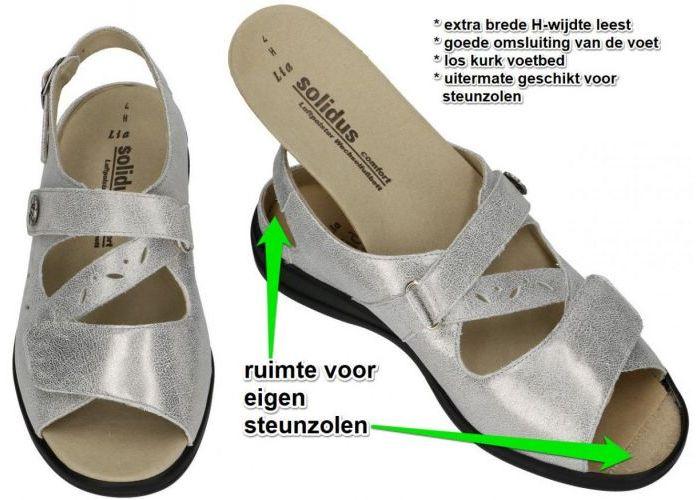 Solidus 73103 - 20552 LIA sandalen zilver