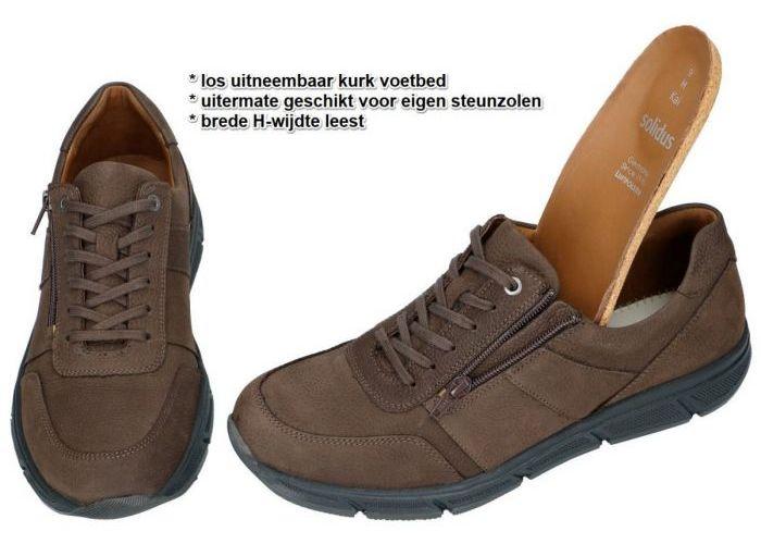 Solidus 67001-30221 KAI (H) sneakers bruin donker