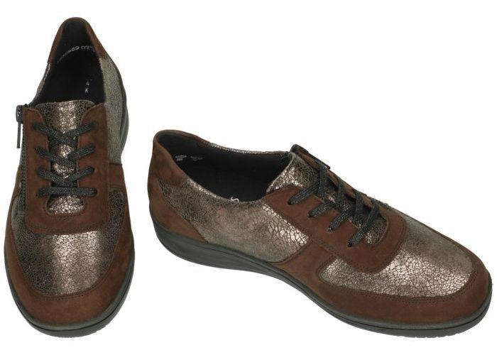 Solidus 29012-30485 KATE sneakers  bruin donker