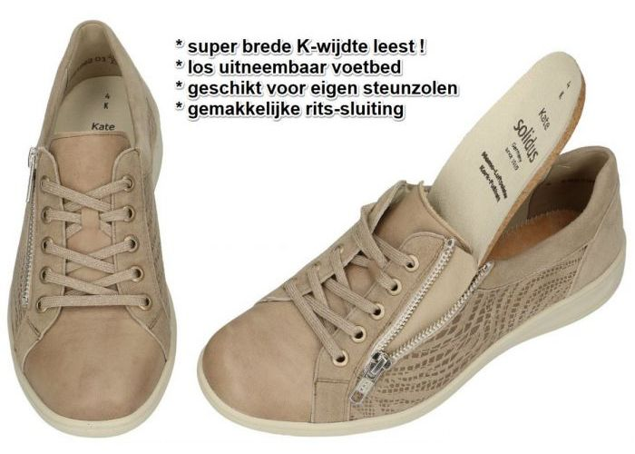 Solidus 29001-40421 KATE (K) sneakers  taupe