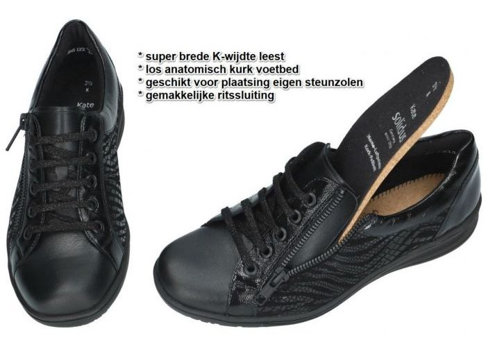 Solidus 29001-01001 KATE (K) sneakers  zwart