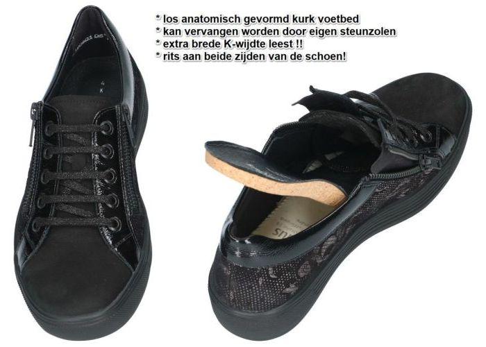 Solidus 32004-00592 (K) KAJA sneakers  zwart