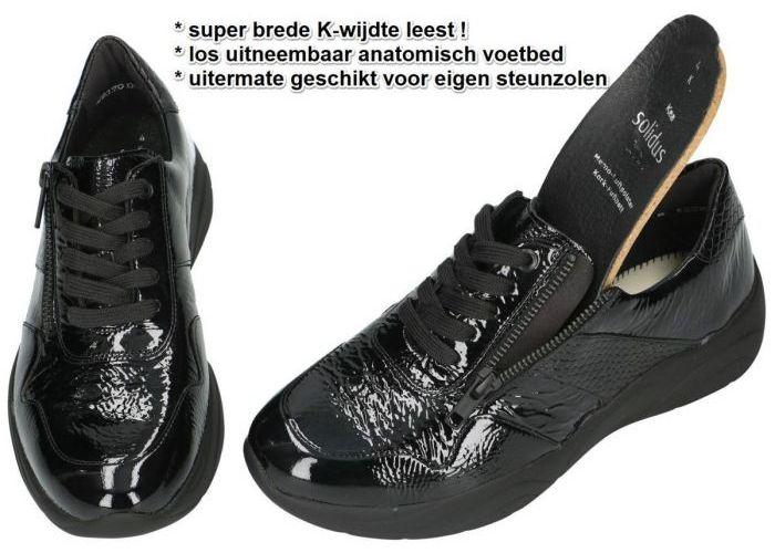 Solidus 66001-00965 KEA sneakers  zwart