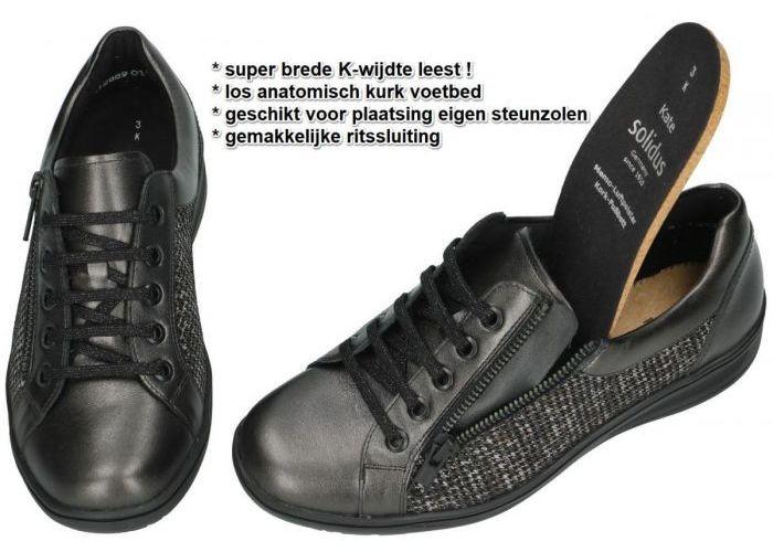 Solidus 29001-00977 (K) KATE sneakers  grijs  donker