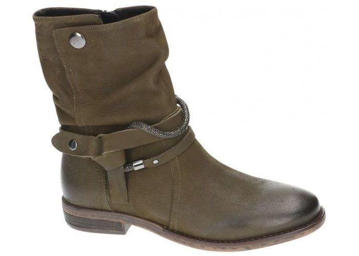 Spm 13818432 cool ankle boot enkellaarzen kaki/camouflage