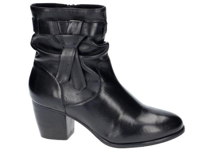 Damesschoenen Spm ENKELLAARZEN DOTIE ankle boot Zwart