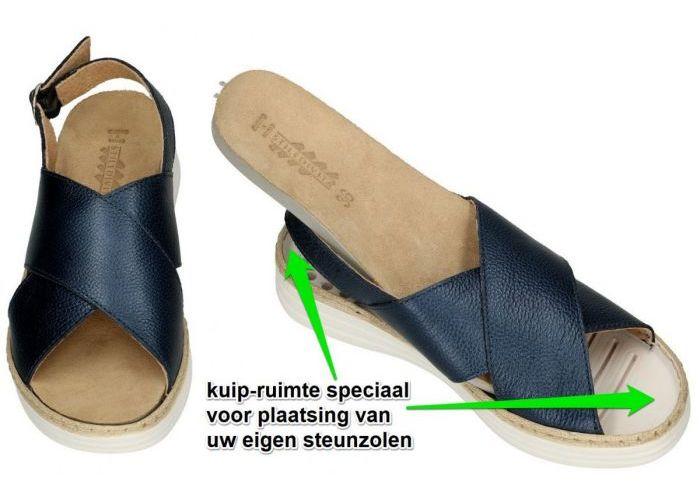 Stiledivita 8317 sandalen blauw donker
