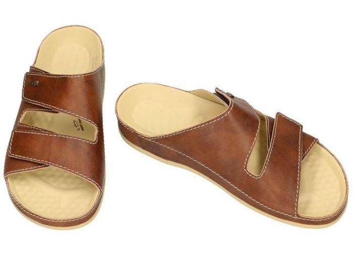Vital 62077 VITAL pantoffels & slippers cognac/caramel