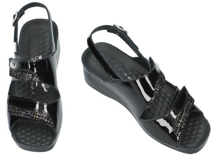 Vital 136930 TINA sandalen zwart