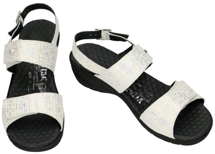 Vital 28841 IRIS  sandalen wit