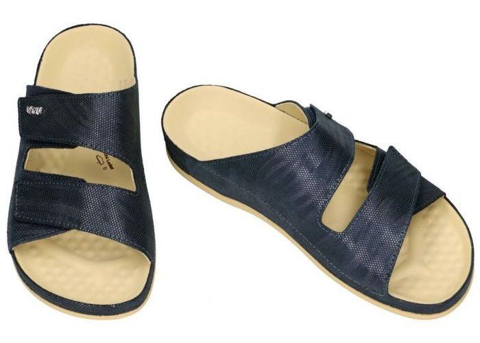 Vital 14686 vital slippers & muiltjes blauw donker
