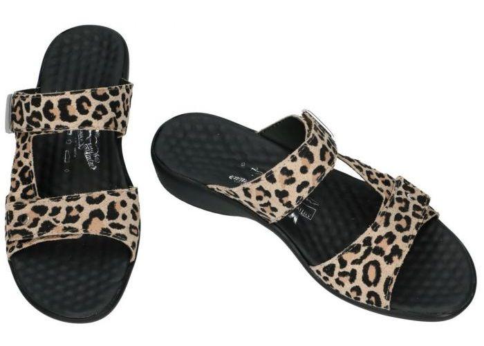 Vital 32777 KARIN slippers & muiltjes dierprint