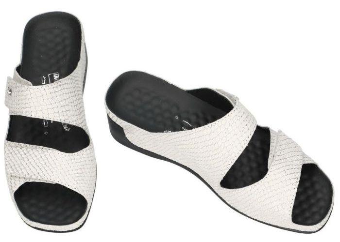Vital 18601 TINA slippers & muiltjes off-white/ecru/parel