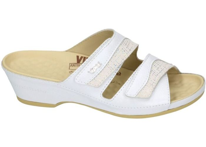 Vital 9425 slipper - muiltje wit