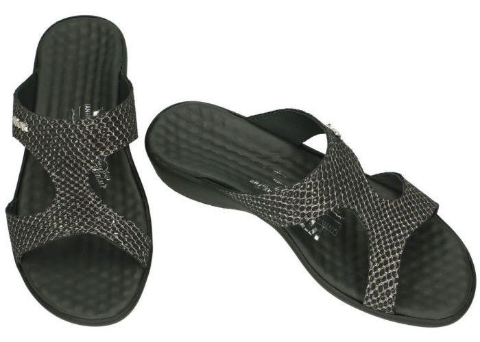Vital 18730 KARIN slippers & muiltjes zwart