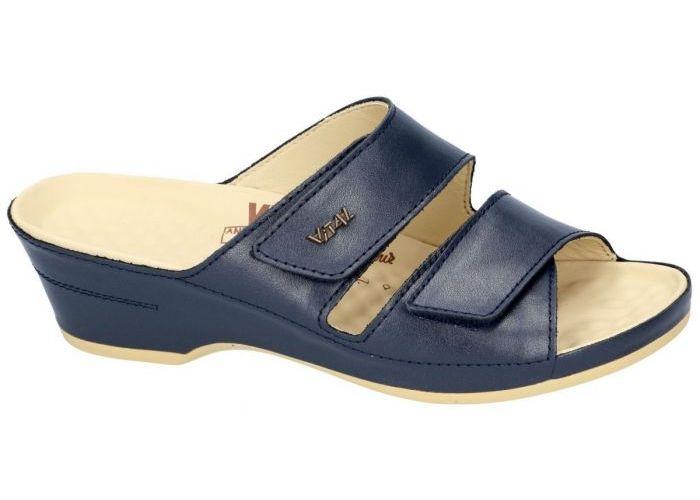 Vital 12546 EVA slippers & muiltjes blauw donker