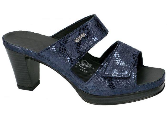 Vital 157006 TOSCA slippers & muiltjes blauw donker