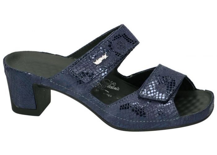 Vital 15906 JOY slippers & muiltjes blauw donker
