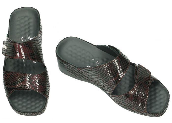 Vital 15605 TINA slippers & muiltjes bordeaux