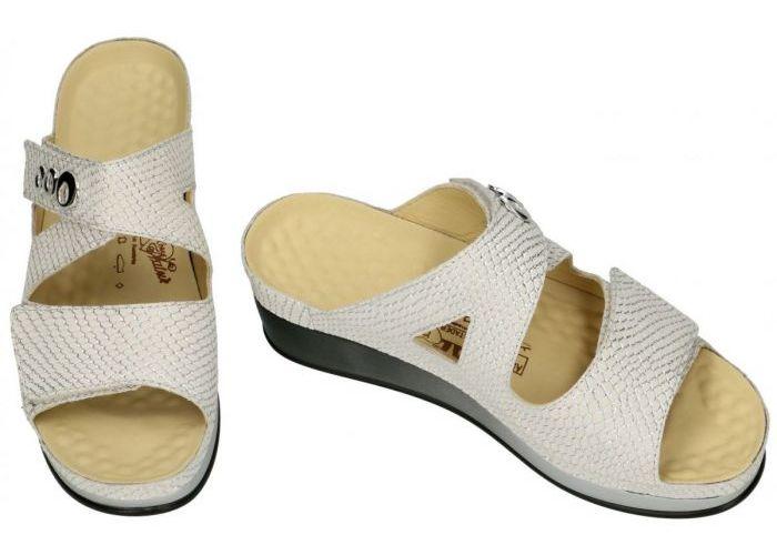 Vital 181511 LARA G slippers & muiltjes off-white/ecru/parel