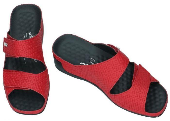 Vital 20605 TINA slippers & muiltjes rood