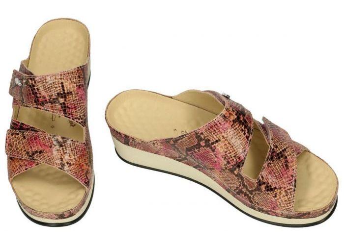 Vital 241339 LARA slippers & muiltjes roze donker