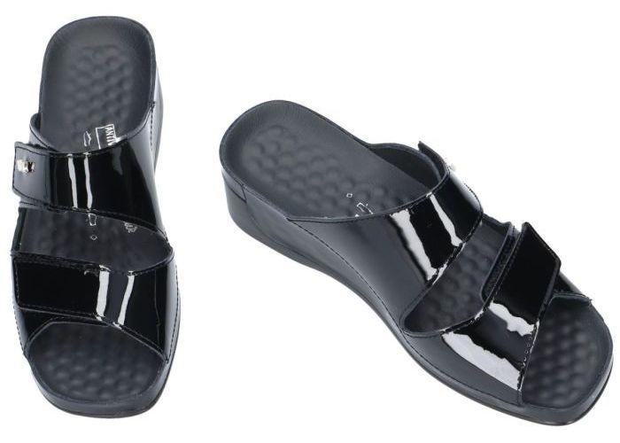 Vital 13600 TINA slippers & muiltjes zwart