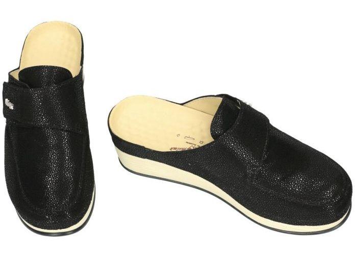 Vital 171600 LARA slippers & muiltjes zwart