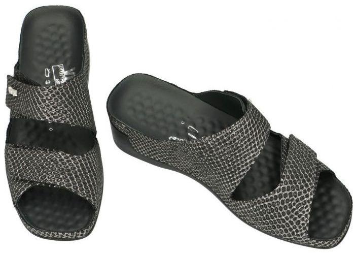 Vital 18600 TINA slippers & muiltjes zwart