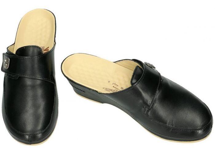 Vital 2090 EVA slippers & muiltjes zwart