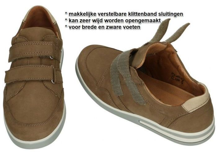 Waldlaufer 623301 691 711 KLEMENS casual schoenen bruin